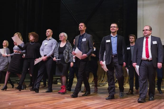Rallye des arts / École nationale de théâtre du Canada