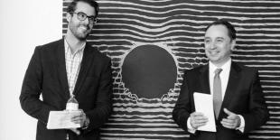 Maxime Codère et Sébastien Barangé - co-fondateurs des Mécènes investis pour les arts